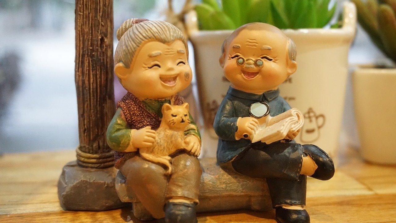 Grands Parents heureux grace à la téléassistance